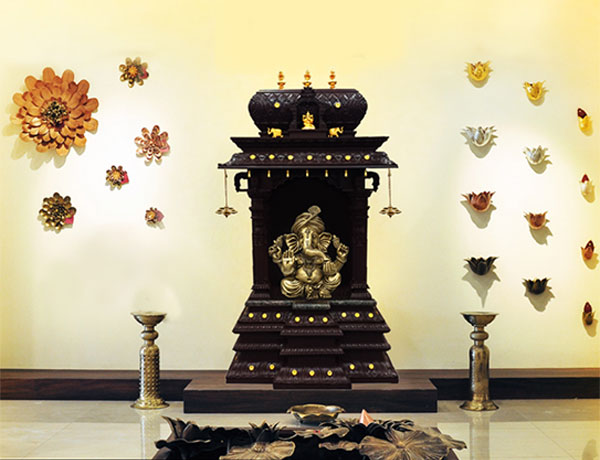 Pooja Room Design Buy Pooja Room Mandirs At Mantra Gold Coatings