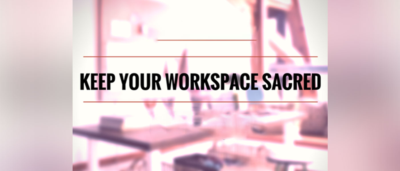Creating an efficient workspace out of your home 1